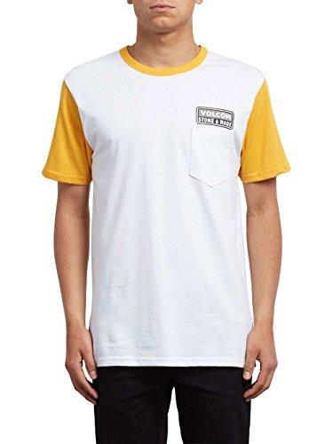 Volcom Herren T-Shirt Tangerine