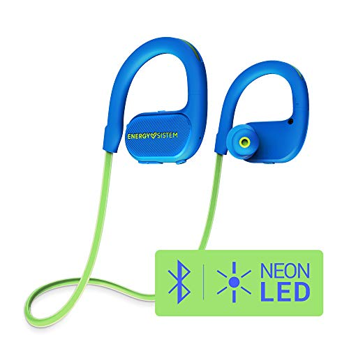 Auriculares intrauditivos bluetooth running 2 (Neon LED