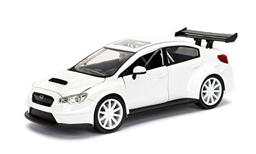 Jada Toys–98296W–Subaru WRX STI–Fast and Furious 8–Maßstab 1/24–Weiß
