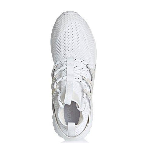 adidas Tubular Nova Pk, Scarpe da Ginnastica Uomo Bianco (Ftwbla/Blacla)