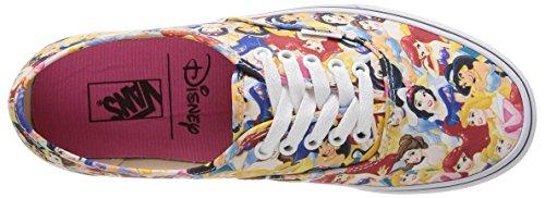 Vans U Authentic Disney, Baskets Basses Mixte Adulte Multicolore (Disney/Multi Princess)