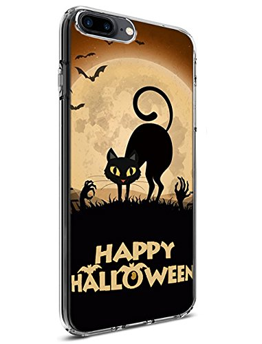 Schutz Hülle Slim Case für Apple iPhone 7 Plus (2016)/iPhone 8 Plus (2017) Happy Halloween Serie, Design-11