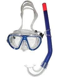 Seac Kinder Snorkeling set PLAGE, blue, 9456B