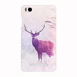 Back cover for Xiaomi Mi4i Wild deer