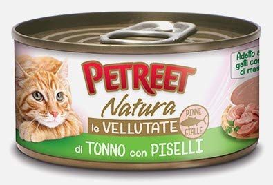 PETREET Nat. Vell. Tonno/Piselli Gr 70