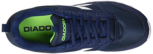 Diadora Hawk 6, Entraînement de course homme Blu (Blu Classico/Bianco)