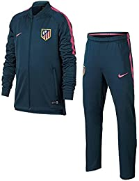 Nike Atm y Nk Dry Sqd Trk Suit K Chándal Atlético de Madrid, Niños, Azul (Space Blue/Space Blue/Laser Pink), L