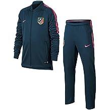 Nike ATM Y Nk Dry Sqd TRK Suit K Chándal Atlético de Madrid, niños,