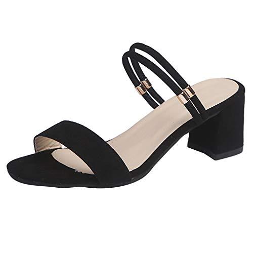 Wawer Damen Sandalen, Sommer Cortex Wort mit klassischen Einfach Slingback Stil Freizeitschuhe Sommer EIN Fuß Flache Schuhe Damenschuhe - Sparkle Mesh-sandalen