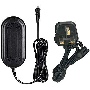 Generic AC Adapter Charger for Canon VIXIA HF R200 HF R300 HF R400 HF R500 Power