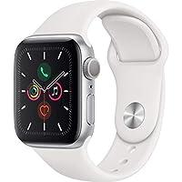 Apple Watch Seri 5 GPS 40mm Gümüş Alüminyum Kasa ve Beyaz Spor Kordon MWV62TU/A