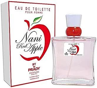 Profumo donna generici Nani Pink Apple acqua di colonia 100ml grande marchio