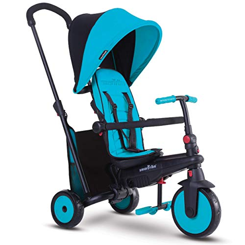 Smartrike - 5021800 - Tricycle évolutif Pliant smarTfold 300 Plus - Bleu