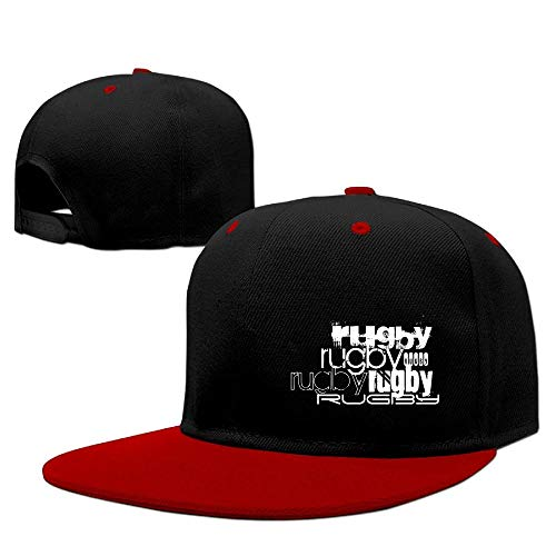 CHKWYN Men&Women Rugby; Black & Dark Gray Stripes Trucker Hats Adjustable Rugby Stripe Beanie