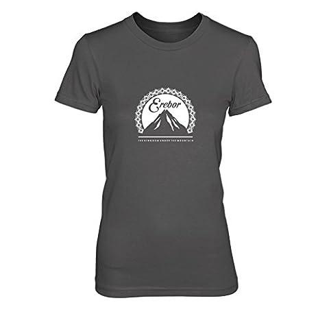Erebor - Damen T-Shirt, Größe: L, Farbe: grau