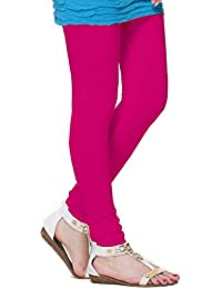 TSG Plain Pink Cotton Leggings