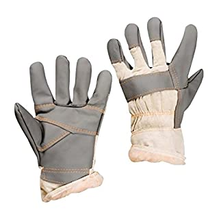 3 Paar Winter Arbeitshandschuhe gefüttert Möbelleder Gr.11 Arbeits Handschuhe