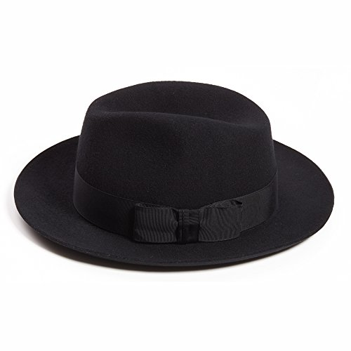 Dasmarca Laine London Code Postal Collection Soho_SW3 Winter Felt Fedora Hat