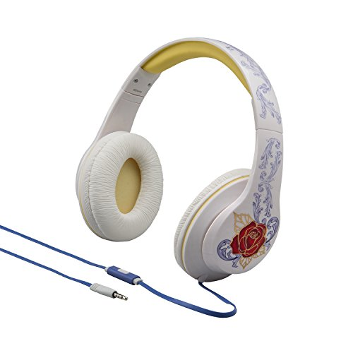 f984f0d2e9a Disney La Bella y la bestia over Ear auriculares con galardonado iHome – el  mejor sonido