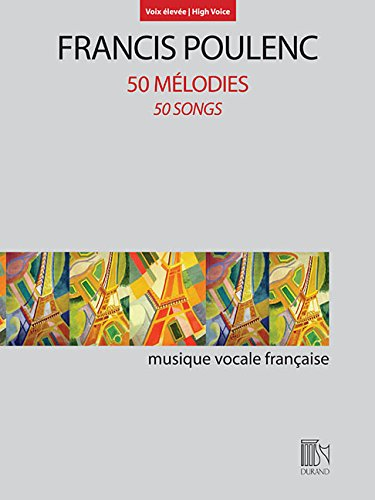50 Melodies (50 Songs): For High Voice and Piano