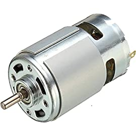 TRP TRADERS 12 V Dc motor RS775  Silver