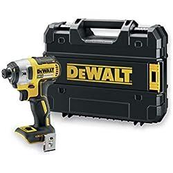 DeWalt DCF887NT - TOOLSELECT Visseuse à chocs 3 vitesses 18V XR Chargeur/batterie non inclus Mallette TSTAK incluse