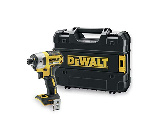 DeWalt DCF887NT - TOOLSELECT Visseuse à chocs 3 vitesses 18V XR Chargeur/batterie non inclus Mallette TSTAK incluse