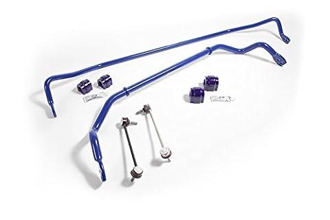 SuperPro 27mm Front , 20mm Rear 2 Position Adjustable Sway Bar Kit RC0028-KIT