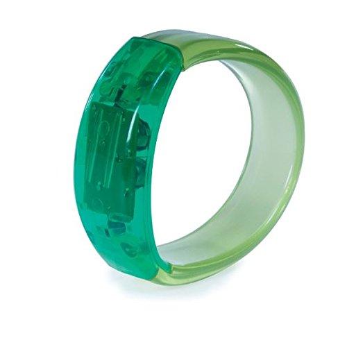 Funtime Stein Armband Light Up Gel GRÜN (Versand aus UK)