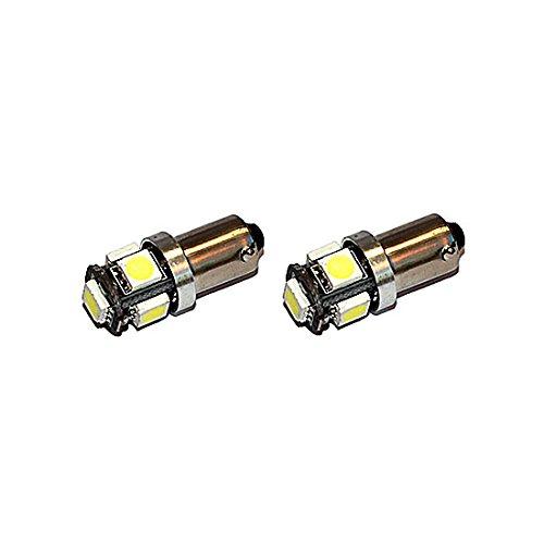 Preisvergleich Produktbild Jurmann Trade GmbH® 5er Xenon LED Standlicht, Glassockel Ba9s, CanBus, Xenon Weiss 12v