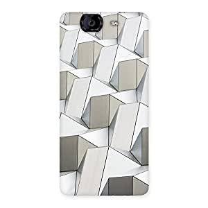 Neo World Abstract Art Back Case Cover for Canvas Knight A350