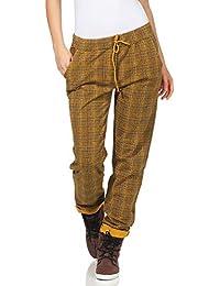 ZARMEXX Pantalones de Mujer Pantalones de chándal de algodón Plaid 85095 en  el Interior de Novios fd3ba80bde2f