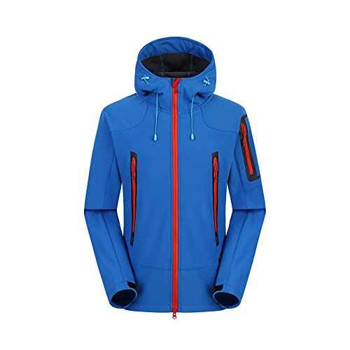 Ynport crefreak giacche softshell uomo trekking sci impermeabile cappotto antipioggia abbigliamento da trekking per uomo giacche antivento in fleece soft shell
