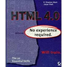HTML: No Experience Required by ES Mack (1997-10-01)