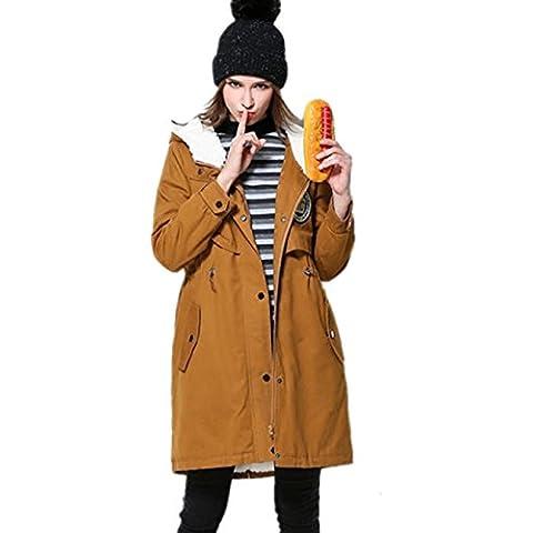 XYXY Cotone da donna Casual inverno giacca