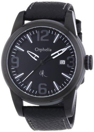 Orphelia OR32671144 - Reloj de pulsera hombre, piel, color negro