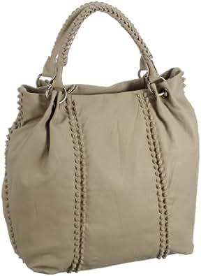Bodenschatz Womens Twist Shoulder Bag Black Schwarz (black) Size: 32.5x17x38 cm (B x H x T)