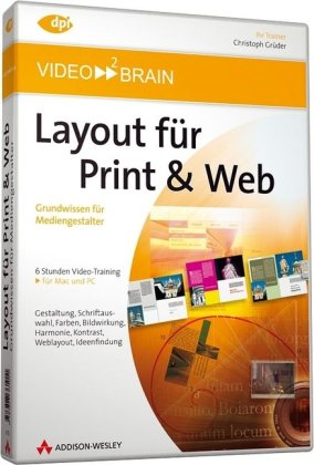 Layout für Print & Web - Video-Training (PC+MAC)