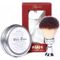 White Dunes Luxury Shaving Soap and Fortitudinem Shaving Brush