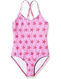 Miami Beach Swimwear Mädchen Badeanzug mit Stern-Print