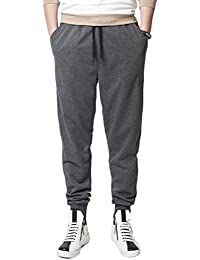 Zhuhaitf Suave y cómodo Mens Soft Multipocket Sports GYM Fitness Comfortable Tracksuit Running Trousers Pants SizeXL-8XL