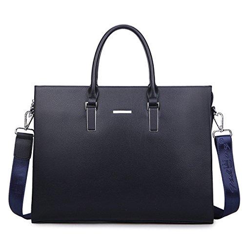 Männer Aktenkoffer Business Bag Handtasche Männliche Tasche Computer Tasche Blue