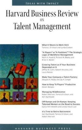 Harvard Business Review on Talent Management