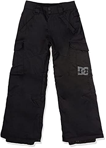 DC Shoes Boys Banshee Youth Snow Pants, Black, Size 12/Large