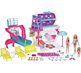 Barbie Cruise Schiff Spielset mit 3Puppen und 28Zubehör * * ausschließlich auf Sonntag Elektronik * *