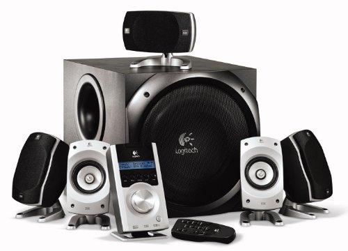 For Sale Logitech Z5500 Digital PC Multimedia Home Theatre Speaker System – 505 Watt (Total) Special