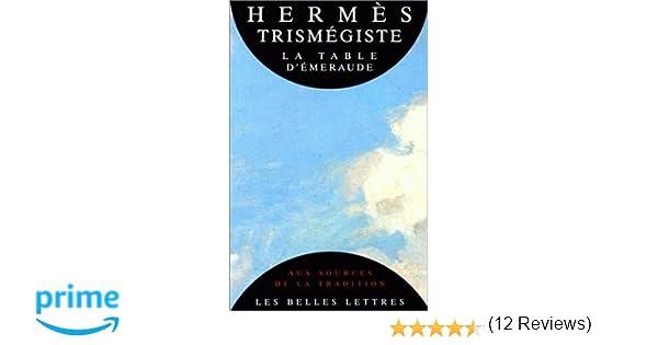058d4a44c4df La Table d Émeraude  Amazon.fr  Hermès Trismégiste  Livres