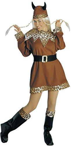 -Lady, Größe L (Wikinger Lady Kostüm)