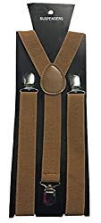Atyourdoor Y- Back Suspender for Men(Choco Color)