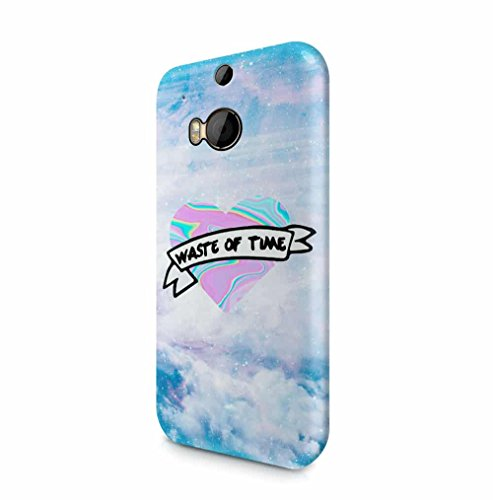 waste-of-time-holographic-tie-dye-heart-stars-space-htc-one-m8-snapon-hard-plastic-phone-protective-